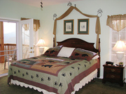 2 bedrooms with King beds and Smoky mountain view